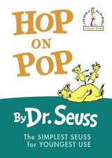 Beginner Books(R): Hop on Pop by Dr. Seuss (1963, Hardcover, Large Type)