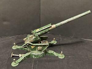 RARE 1940's ASTRA PHAROS TOYS ANTI-AIRCRAFT GUN ENGLAND MODEL ARTILLERY PARTS