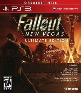 Fallout New Vegas : Ultimate Edition - Sony PS3 - VGC