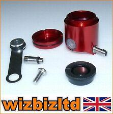 Motorbike Front Brake Fluid Reservoir Pot (T6 Alloy Anodised RED) BKRFB18R
