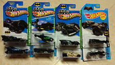 Brand New Hot Wheels Batman Colletion Lots of 8