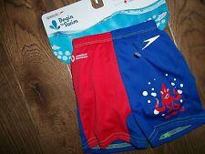 SPEEDO UV 50 Swimsuit BATHING SUIT w/ Swim Diaper  Baby Boys SMALL 0 - 6 Months