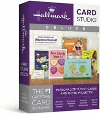 Hallmark Card Studio Deluxe SEALED DVD FAST POSTAGE