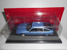 ATLAS CITROEN CX 2400 GTI BLEU DE 1977 SCALE 1/43