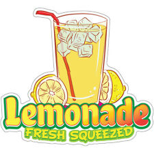 Lemonade Fresh Squeezed Decal Concession Stand Food Truck Sticker