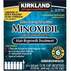 Kirkland Minoxidil 5% Extra Strength Men 6 Month Supply Hair Regrowth Solution  <br/> FREE Expedited Shipping With Tracking #, EXP: 02/2023
