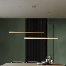 Long Copper Kitchen Island Chandelier Hanging Pendant Light Fixtures Living Room