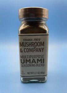 Trader Joe's MUSHROOM & Company Multipurpose UMAMI Seasoning Blend 2.1 oz