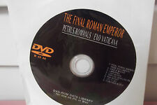 NEW The Final Roman Emperor/Petrus Romanus/Exo Vaticana DVD-ROM data library