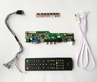 TV PC HDMI CVBS RF LCD Controller Board for LED B173HW01 N173HGE-L11 1920X1080