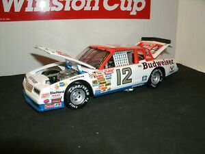#12 NEIL BONNETT 1984 JUNIOR JOHNSON PREPARED BUDWEISER CHEVROLET 1/24 CUSTOM