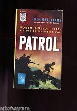 PATROL- ( British infantry in No. Africa 1943)  Majdalany   2ND   US  SB  VG