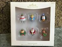 Hallmark Keepsake 2007 Dancing Friends Set of 6 Miniature Ornaments