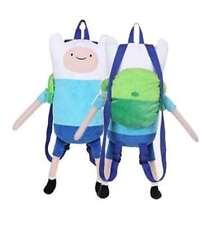 Adventure Time Plush Finn Backpack, for Kids Boys/Girls
