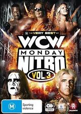 D7 BRAND NEW SEALED The WWE - Very Best Of WCW Monday Nitro : Vol 3 (DVD, 2016)