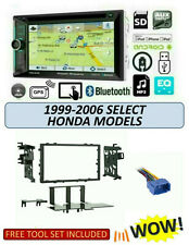 Fits 1999-2006 HONDA Select Models Stereo Kit, PDN-623B, BLUETOOTH GPS DVD