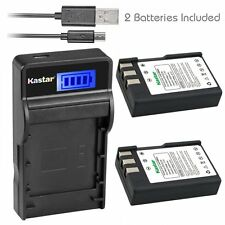Kastar EN-EL9 Battery & SLIM LCD Charger for Nikon D40 D40x D60 D3000