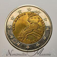San Marino Moneta da 2 euro Garibaldi prova 2007