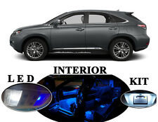 LED Package- Interior + License + Vanity + Reverse for Lexus RX 350 450H 19Pcs