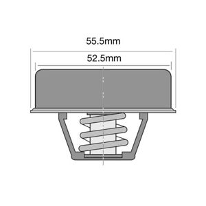 THERMOSTAT FOR CITROEN DS 21 (1965-1972)