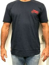 Royal Enfield Motorcycle T-Shirt Navy Blue 100% Cotton Continental GT 650