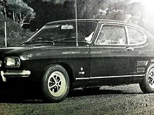 FORD CAPRI 1600 GT -1969 - Road Test removed from AUTOCAR  magazine