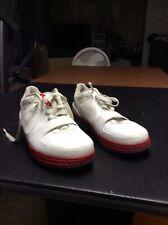 174b24f7bafc Mens Nike Zoom Lebron 6 VI Low White Red Black Size 10 (354695-112