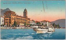 54653 -- CARTOLINA d'Epoca - LAGO di GARDA: Gardone  del Garda 1926
