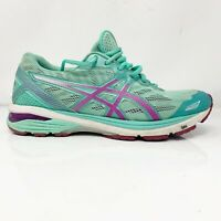 Asics Womens GT 1000 5 T6A9N Mint Pink Running Shoes Lace Up Low Top Size 9 D