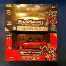 Transformers Alternators Lot Silverstreak & Windcharger MISB Binaltech