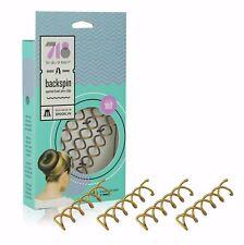718Beauty Backspin Spiral Hair Pin - Color: Light - 4 Pins - Like Goody Spin Pin