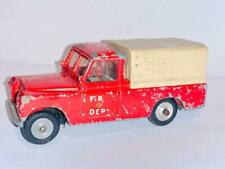 RARE SPOT ON TRIANG TRI ANG 316 FIRE DEPT LAND ROVER TOYS MODEL 1/42