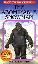The Abominable Snowman by R.A. Montgomery ( ChooseCo | 20th. Printing | 2006 )