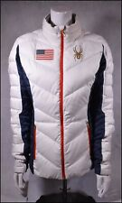 SPYDER USST USA US OLYMPIC SKI TEAM OFFICIAL ISSUE INSULATED JACKET WOMENS M