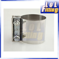 """2 """" Stainless steel Exhaust Flat Band Clamp / Clamps"""