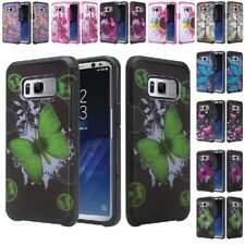 For Samsung Galaxy S8 Plus Slim Hybrid Hard Armor Protective Phone Case Cover