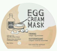 TOO COOL FOR SCHOOL KOREA FIRMING EGG CREAM MASK