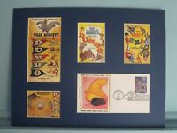 Walt Disney's Dumbo with timothy the Mouse & First Day Cover of the Dumbo Stamp