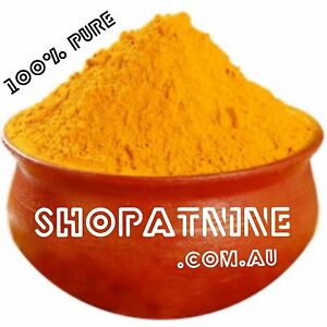 Bulk 4kg Turmeric Curcumin Powder Tumeric Spice Curcuma longa Anti Inflammatory