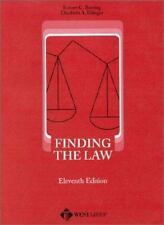 Finding the Law : An Abridged Edition of How to Find the Law (11th Ed)-ExLibrary