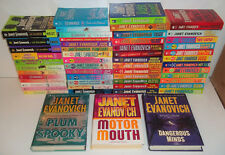 LARGE LOT OF 56 BOOKS BY JANET EVANOVICH 1-24 HARDCORE TWENTY-FOUR