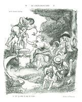 Publicité ancienne dessin de Willette 1981 issue du livre