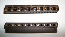 1x Riacon 31009209-09, 9 Position 10mm 600V 12-22 Awg Terminal Block Horizontal