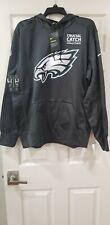 Nike Philadelphia Eagles Hoodie Crucial Catch Size XL New Grey