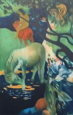 Paul Gauguin: Vahinee to The Horse White - Lithography Numbered And Signed