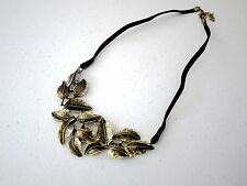 Chic Vintage style barocco Leaves Neacklace