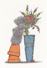 DMC Me To You Tatty Teddy Fresh Bouquet Cross Stitch Kit