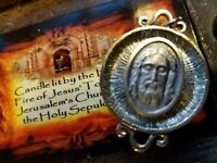 St.Veronica's Veil Holy Face Reliquary Holy Fire relic Tomb of Jesus