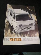 Original 1963 Ford Truck Recreation Fleet Brochure