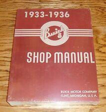 1933 1934 1935 1936 Buick Shop Service Manual 33 34 35 36